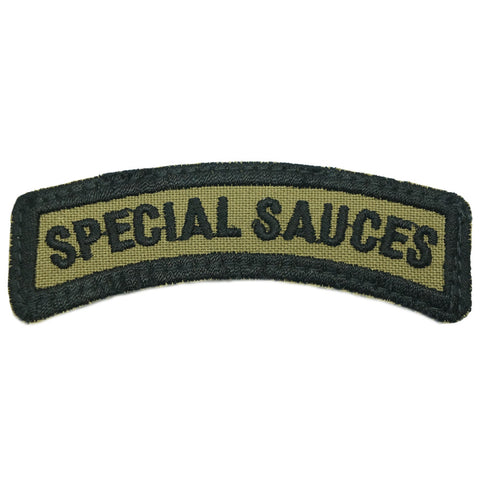SPECIAL SAUCES TAB - OLIVE GREEN