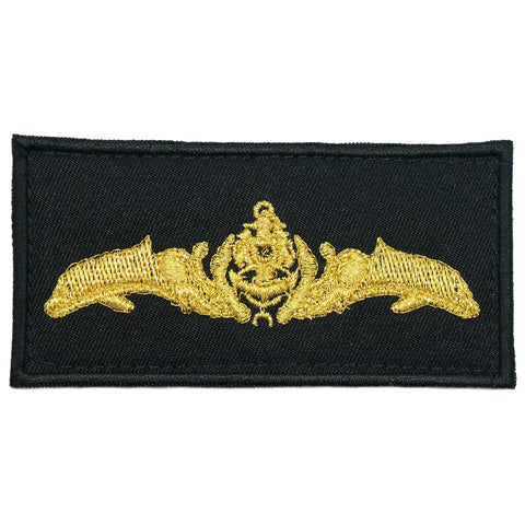 SUBMARINER PATCH - BLACK GOLD