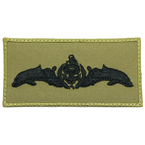 SUBMARINER PATCH - OLIVE GREEN