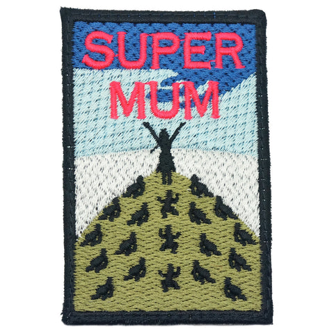 SUPER MUM PATCH - FULL COLOR