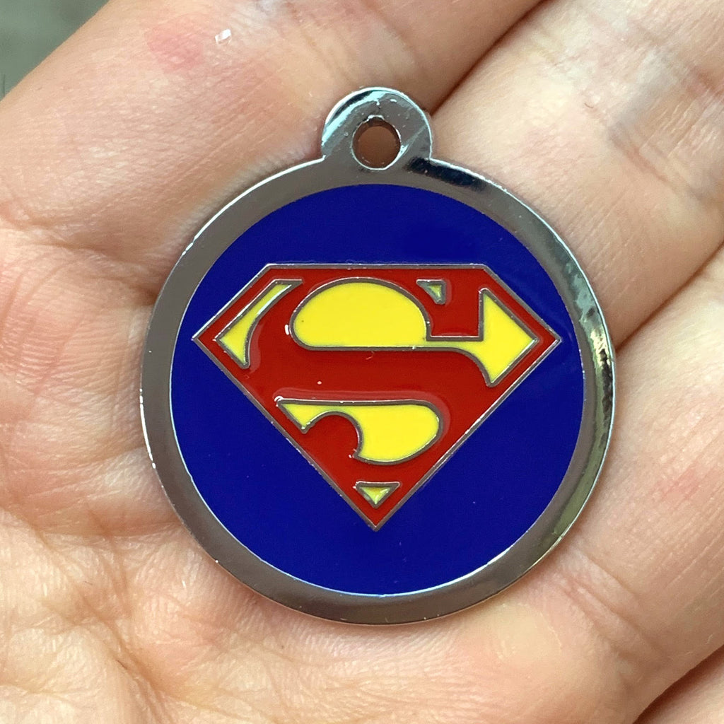 SUPERMAN PET TAG