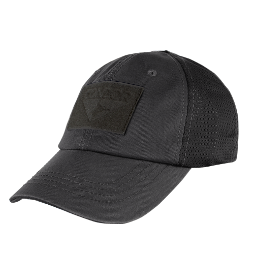 CONDOR MESH TACTICAL CAP - BLACK