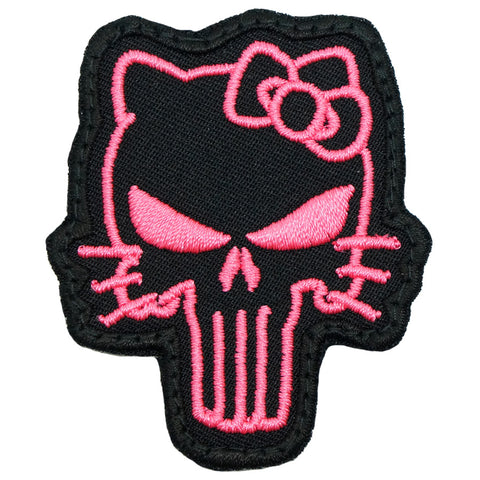 TACTICAL KITTY PATCH - BLACK PINK