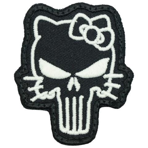 TACTICAL KITTY PATCH - GLOW IN THE DARK