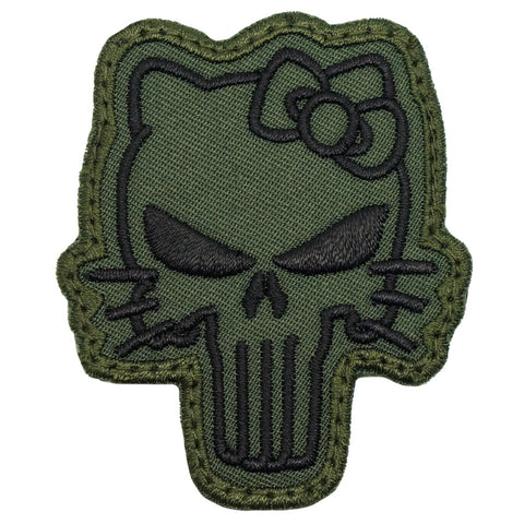 TACTICAL KITTY PATCH - OD GREEN
