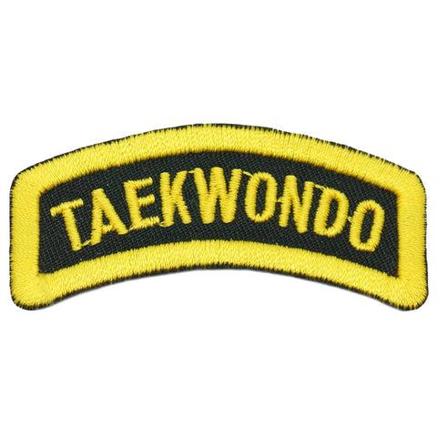 TAEKWONDO TAB - BLACK YELLOW