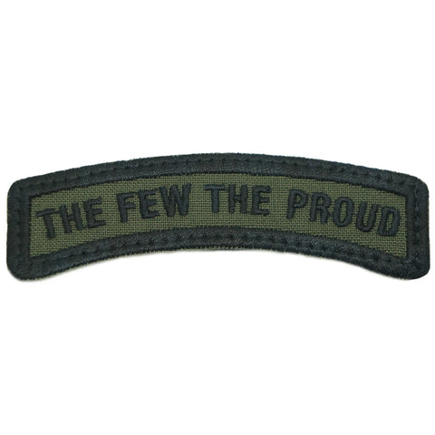 THE FEW THE PROUD TAB - OD GREEN