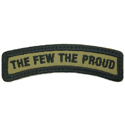 THE FEW THE PROUD TAB - OLIVE GREEN