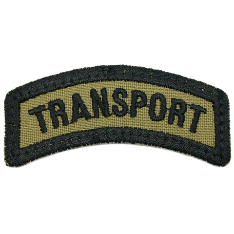 TRANSPORT TAB - OLIVE GREEN