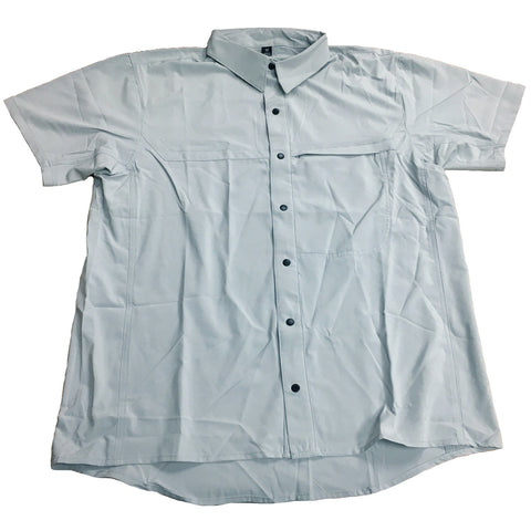 TRU-SPEC ASIAN FIT COOL CAMP SHIRT - ARCTIC GREY