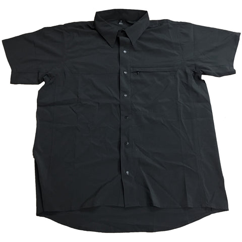 TRU-SPEC ASIAN FIT COOL CAMP SHIRT - BLACK