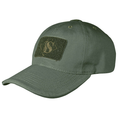TRU-SPEC-CONTRACTOR CAP - OD GREEN
