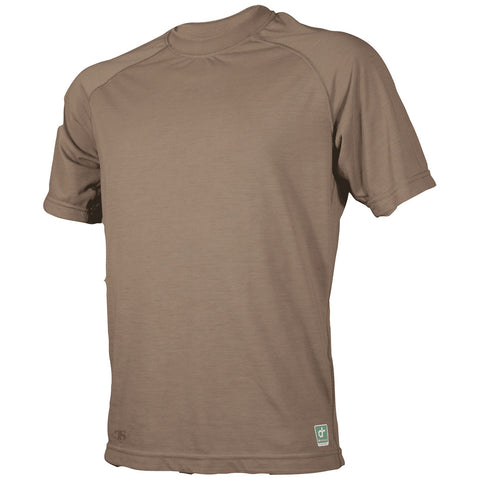 TRU-SPEC DRI-RELEASE SHORT SLEEVE T-SHIRT - COYOTE