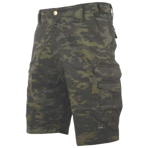 TRU-SPEC 24-7 TACTICAL SHORTS ASIAN FIT - MULTICAM BLACK - Hock Gift Shop | Army Online Store in Singapore