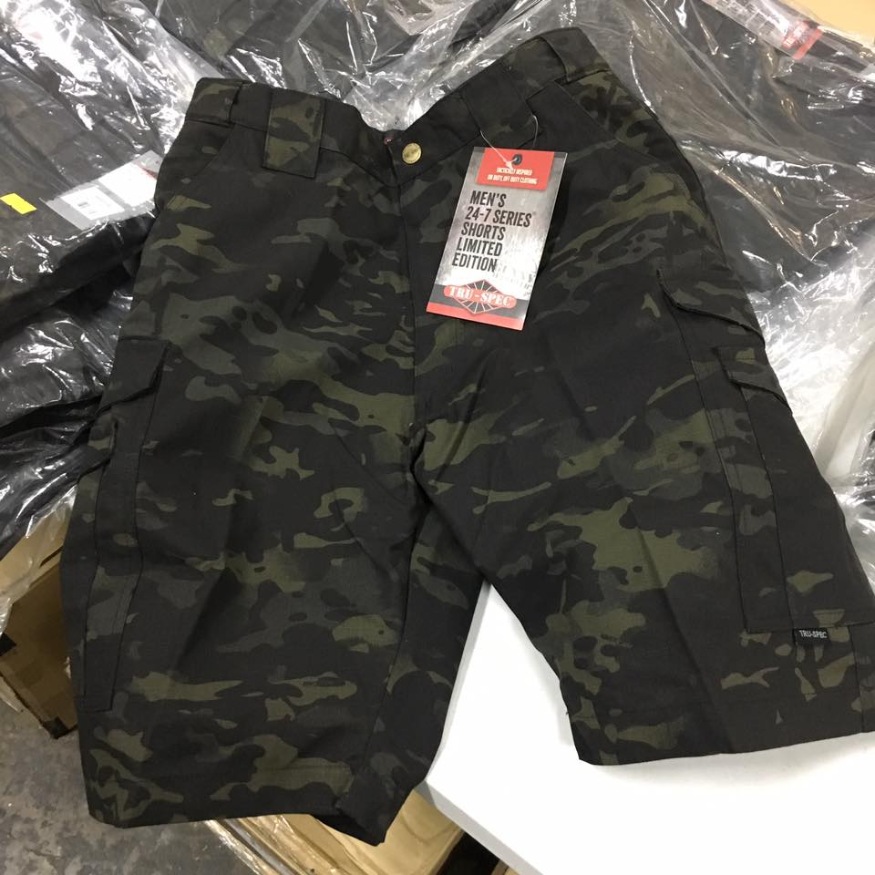 03d53999b5 TRU-SPEC 24-7 TACTICAL SHORTS ASIAN FIT - MULTICAM BLACK – Hock Gift ...