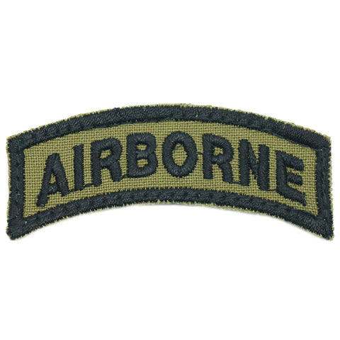 US AIRBORNE TAB - OLIVE GREEN