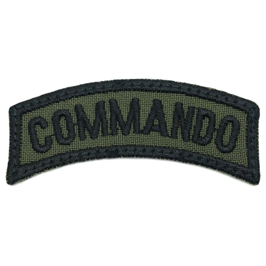 US COMMANDO TAB - OD GREEN