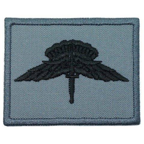 US MILITARY FREEFALL PARACHUTIST BADGE - GRAY
