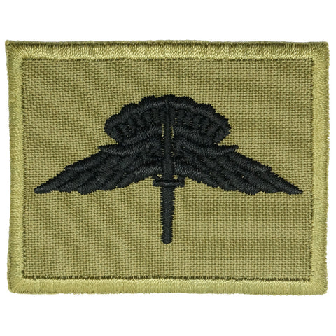 US MILITARY FREEFALL PARACHUTIST BADGE - OLIVE GREEN