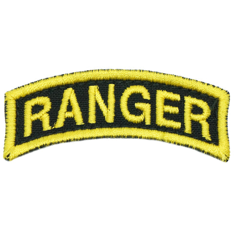 US RANGER TAB - BLACK YELLOW