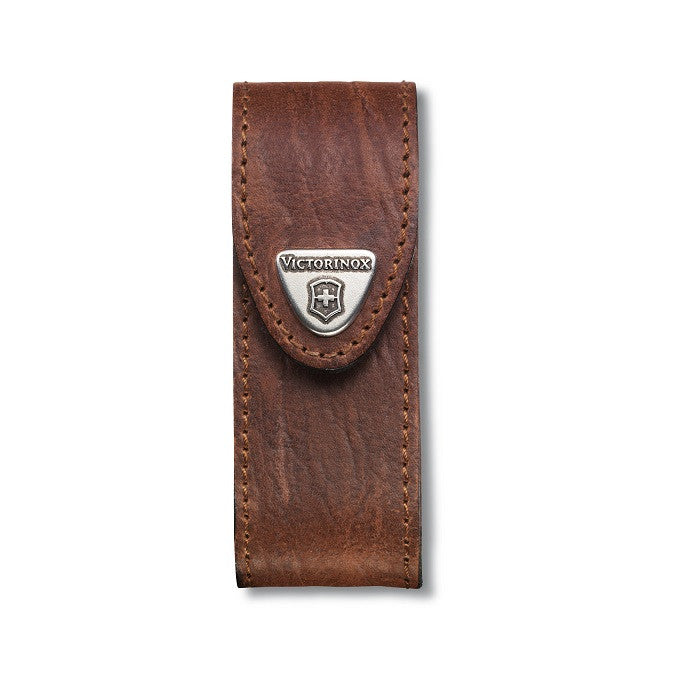 VICTORINOX LEATHER POUCH (SMALL) - BROWN