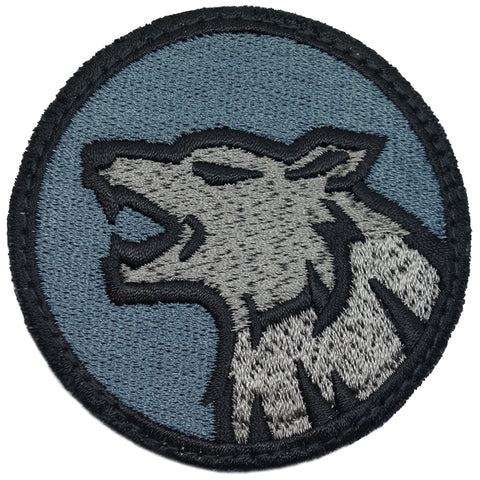 WOLF HEAD PATCH - MIDNIGHT