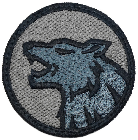 WOLF HEAD PATCH - FOLIAGE