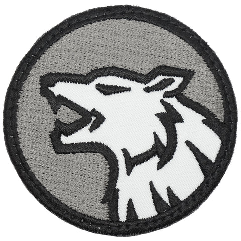 WOLF HEAD PATCH - SWAT