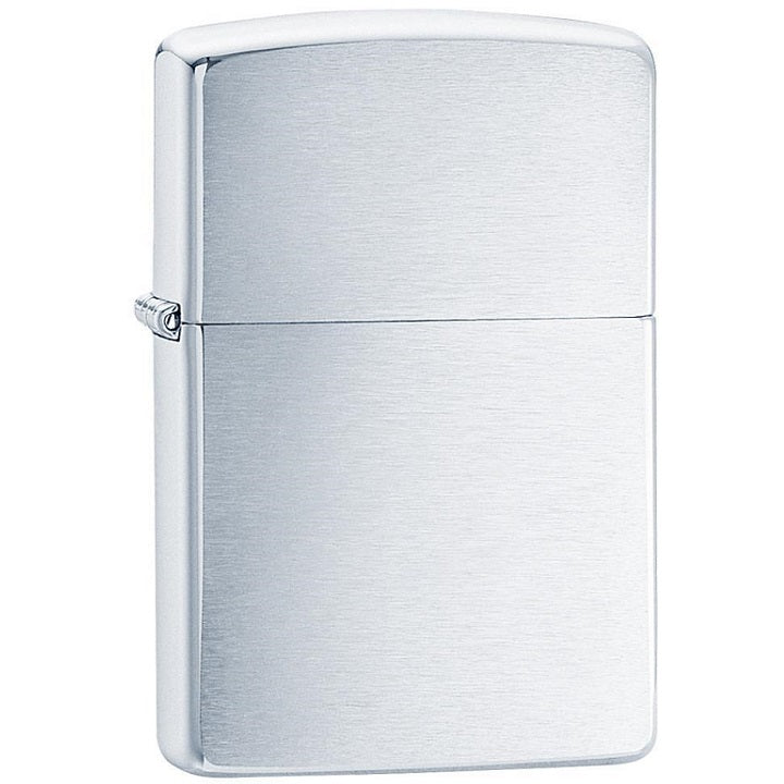 ZIPPO BRUSH CHROME ARMOR HEAVY WALL