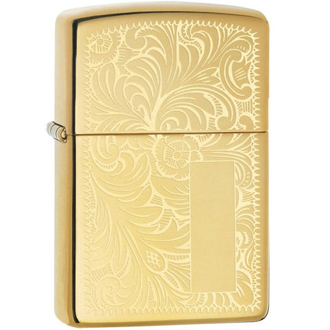 ZIPPO HIGH POLISHED BRASS VENETIAN
