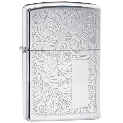 ZIPPO HIGH POLISHED CHROME VENETIAN