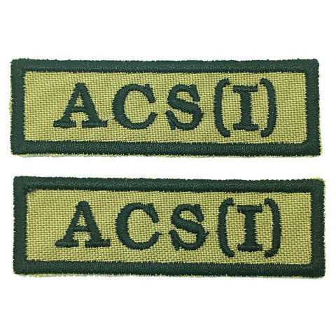 ACS (I) NCC SCHOOL TAG - 1 PAIR - Hock Gift Shop | Army Online Store in Singapore