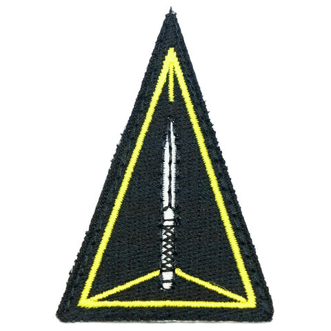 ADF TRIANGLE PATCH - BLACK - Hock Gift Shop | Army Online Store in Singapore