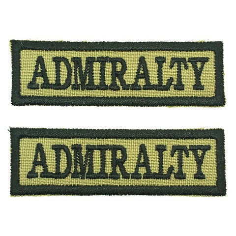 ADMIRALTY NCC SCHOOL TAG - 1 PAIR - Hock Gift Shop | Army Online Store in Singapore
