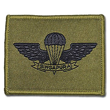SAF #4 BADGE - AIRBORNE - Hock Gift Shop | Army Online Store in Singapore