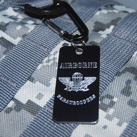 UNIT LUGGAGE TAG - AIRBORNE PARATROOPERS - Hock Gift Shop | Army Online Store in Singapore