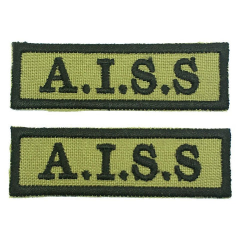 A.I.S.S NCC SCHOOL TAG - 1 PAIR - Hock Gift Shop | Army Online Store in Singapore