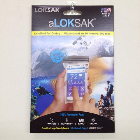 ALOKSAK ALOKD2 3.75X7 (2 PIECE PACK) - Hock Gift Shop | Army Online Store in Singapore