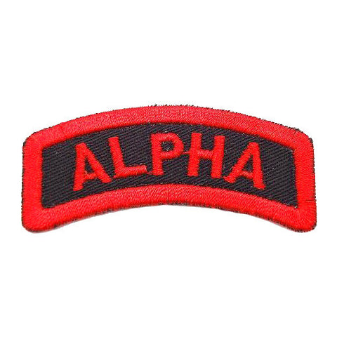 ALPHA TAB - BLACK RED - Hock Gift Shop | Army Online Store in Singapore