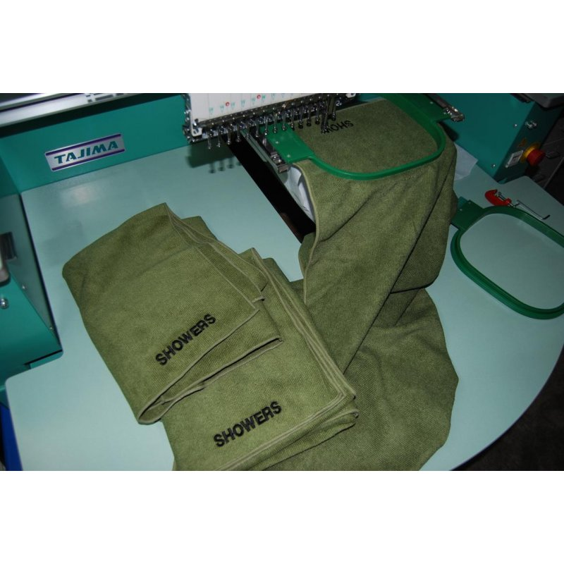 Where To Buy Travel Towel In Singapore: ARMY BATH TOWEL – Hock Gift Shop