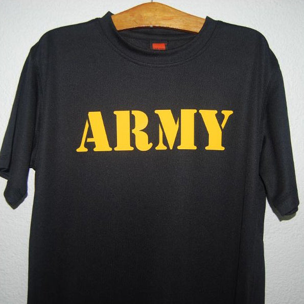 HGS T-SHIRT - ARMY – Hock Gift Shop  04053255af8