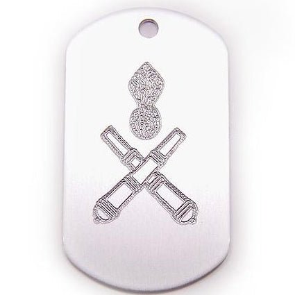 UNIT DOG TAG - ARTILLERY - Hock Gift Shop | Army Online Store in Singapore