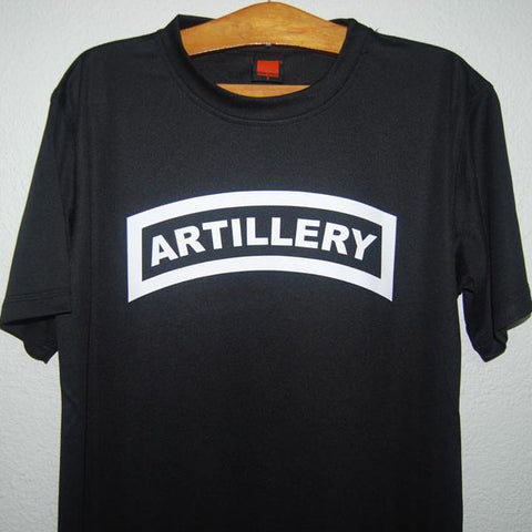 HGS T-SHIRT - ARTILLERY TAB (WHITE PRINT) - Hock Gift Shop | Army Online Store in Singapore