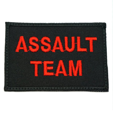 ASSAULT TEAM CALL SIGN PATCH - BLACK - Hock Gift Shop | Army Online Store in Singapore
