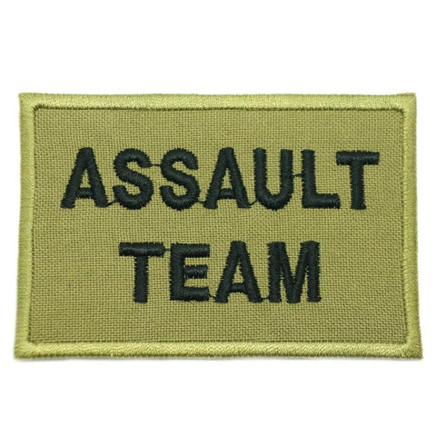 ASSAULT TEAM CALL SIGN PATCH - OLIVE GREEN - Hock Gift Shop | Army Online Store in Singapore