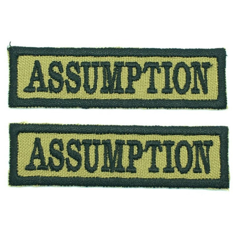ASSUMPTION NCC SCHOOL TAG - 1 PAIR - Hock Gift Shop | Army Online Store in Singapore