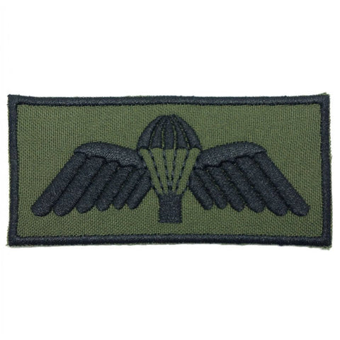 AUSTRALIAN PARACHUTIST PATCH - OD BLACK BORDER - Hock Gift Shop | Army Online Store in Singapore