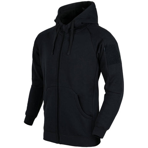 HELIKON-TEX URBAN TACTICAL HOODIE LITE - FULLZIP (BLACK)