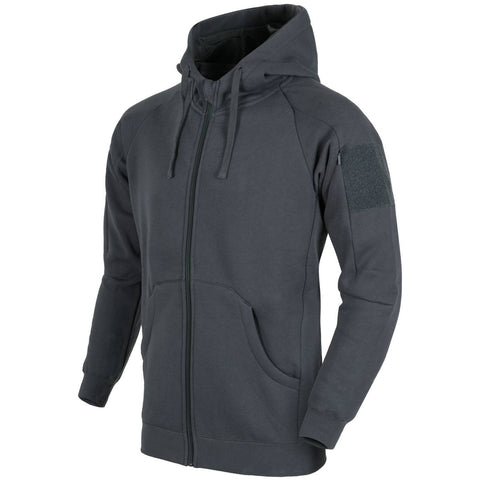 HELIKON-TEX URBAN TACTICAL HOODIE LITE - FULLZIP (GREY)