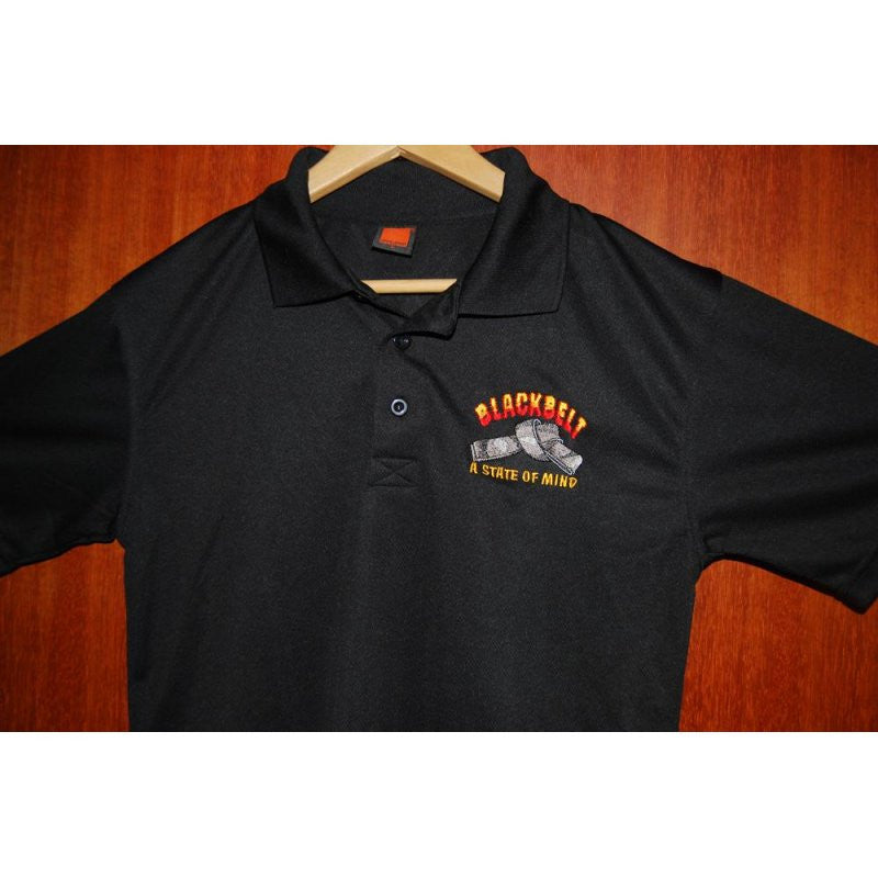 HGS POLO T-SHIRT - BLACK BELT - Hock Gift Shop | Army Online Store in Singapore